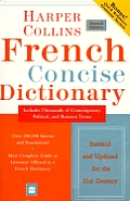 Harpercollins French Concise Dictionary 2ND Edition