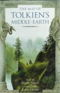 Map Of Tolkien's Middle Earth by Brian Sibley