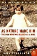 As Nature Made Him The Boy Who Was Raised as a Girl