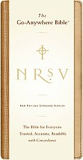 Bible NRSV Brown Go Anywhere