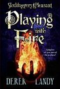 Playing with Fire (Skulduggery Pleasant) Cover