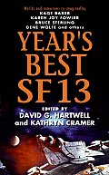 Year's Best SF #13: Year's Best SF 13 Cover