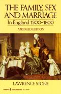 Family Sex & Marriage in England 1500