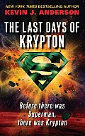 The Last Days of Krypton Cover