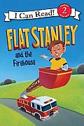 Flat Stanley and the Firehouse (I Can Read - Level 2)