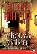 The Body in the Gallery (Large Print) (Faith Fairchild Mysteries)