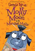 Molly Moon & the Monster Music (Molly Moon) Cover