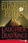 The Laughter of Dead Kings (Large Print) (Vicky Bliss Mysteries) Cover