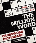 Million Word Crossword Dictionary 2nd Edition
