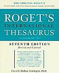 Rogets International Thesaurus 7th Edition