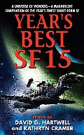 Year's Best SF #15: Year's Best SF 15 Cover