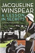 A Lesson in Secrets: A Maisie Dobbs Novel Cover