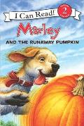 Marley and the Runaway Pumpkin (I Can Read Marley - Level 2) Cover