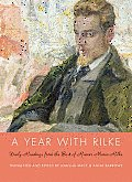 A Year with Rilke: Daily Readings from the Best of Rainer Maria Rilke Cover
