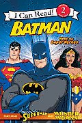 Batman Classic: Meet the Super Heroes: With Superman and Wonder Woman (I Can Read - Level 2)