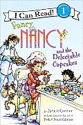 Fancy Nancy and the Delectable Cupcakes (I Can Read Fancy Nancy - Level 1) Cover