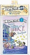 Fancy Nancy Sees Stars Book and CD: Fancy Nancy Sees Stars Book and CD (I Can Read Book 1) Cover
