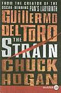 Strain Trilogy #01: The Strain (Large Print) Cover