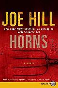 Horns (Large Print)