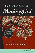 To Kill a Mockingbird (Large Print) Cover