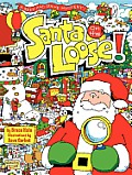 Santa on the Loose!: A Seek and Solve Mystery! Cover