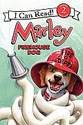 Marley: Firehouse Dog (I Can Read Marley - Level 2) Cover