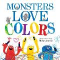 Monsters Love Colors Cover