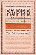 Paper An Elegy