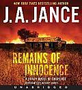 Remains of Innocence CD: A Brady Novel of Suspense