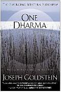 One Dharma: The Emerging Western Buddhism Cover
