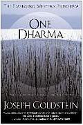 One Dharma The Emerging Western Buddhism
