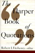 Harper Book of Quotations Revised Edition