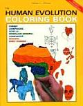 Human Evolution Coloring Book (2ND 00 Edition)