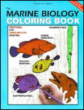 The Marine Biology Coloring Book, 2e (HarperCollins Coloring Books) Cover
