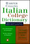 Harpercollins Italian College Dictionary