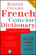 Harpercollins French Concise Dictionary