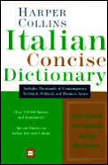 Harpercollins Italian Concise Dictionary 2ND Edition