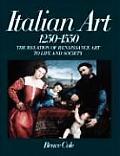 Italian Art 1250-1550 (Icon Editions)