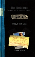 Stop Dont Stop Black Book Volume 2 Diary Of