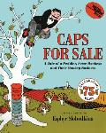 Caps for Sale: A Tale of a Peddler, Some Monkeys and Their Monkey Business (Reading Rainbow Book) Cover