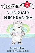 A Bargain for Frances (I Can Read Book) Cover