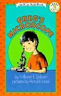 Greg's Microscope (Science I Can Read Book) Cover