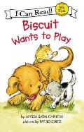 Biscuit Wants to Play (My First I Can Read Books) Cover