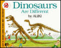 Dinosaurs Are Different (Let's-Read-And-Find-Out Science: Stage 2)