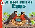 A Nest Full of Eggs (Let's-Read-And-Find-Out Science: Stage 1) Cover
