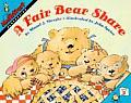 A Fair Bear Share (Mathstart: Level 2) Cover