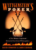 Wittgenstein's Poker: The Story of a Ten-Minute Argument Between Two Great Philosophers Cover