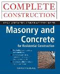 Masonry and Concrete Complete Construction (Complete Construction)