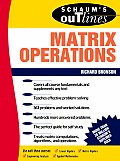 Schaum's Outline of Matrix Operations (Schaum's Outlines)