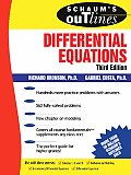 Schaums Outline Of Theory & Problems Of Differential Equations 2nd Edition